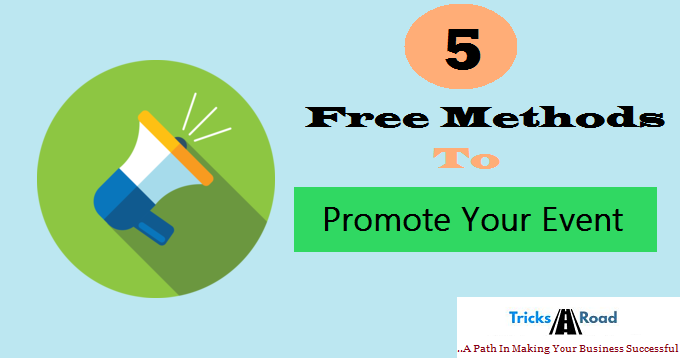 promote your event free