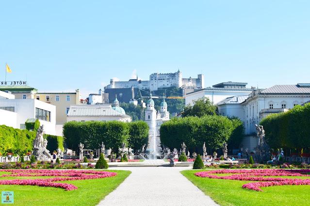 Jardines del Palacio Mirabell en Salzburg