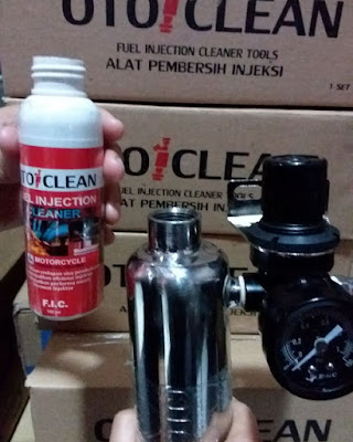 cairan injector cleaner mobil