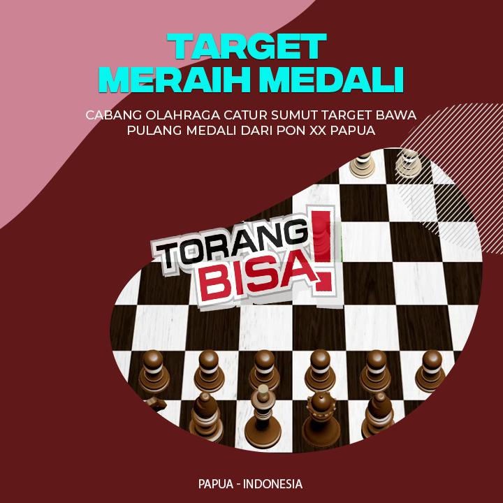 Cabang Catur Sumut Target Bawa Pulang Medali dari PON Papua
