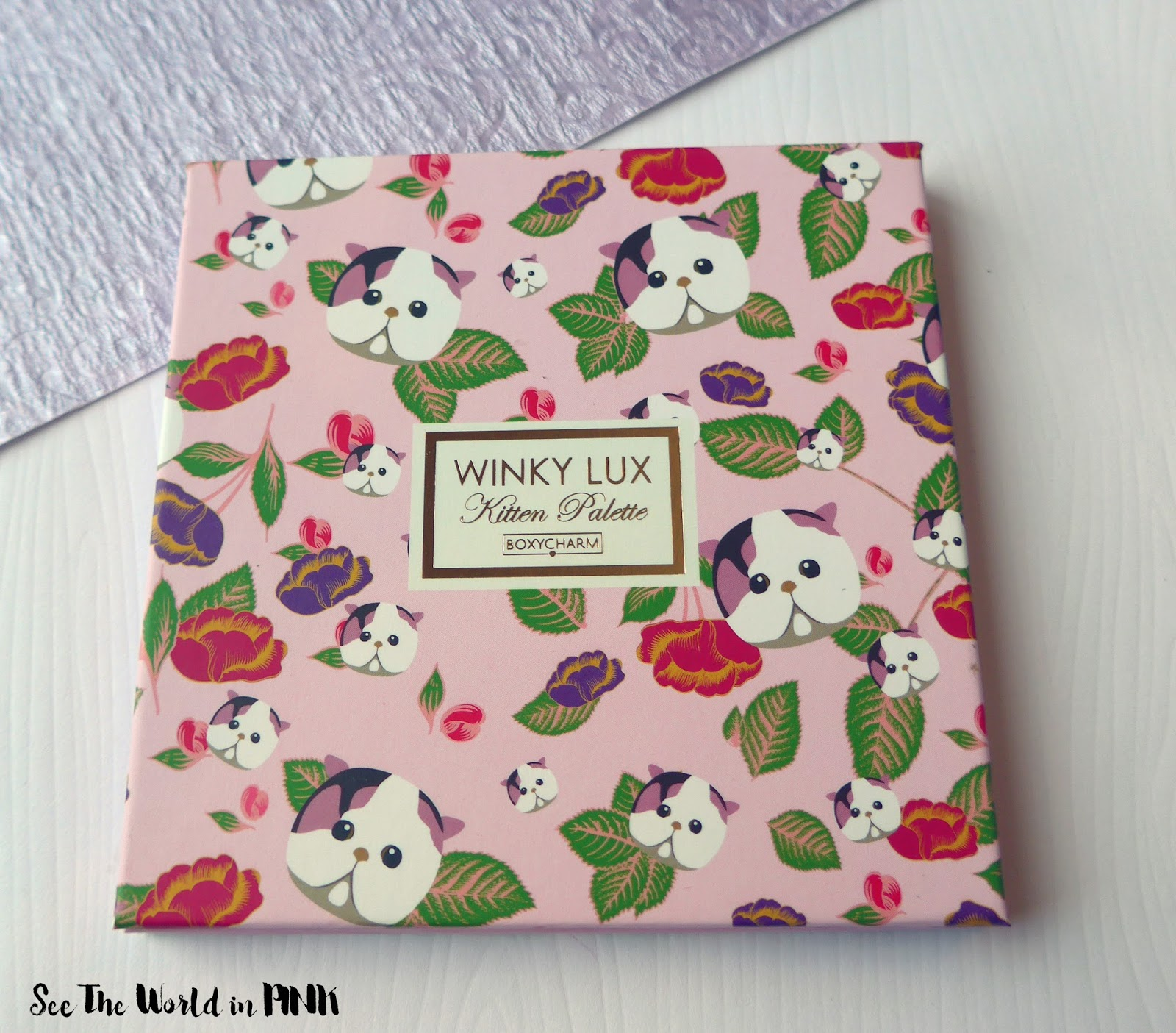 Winky Lux Kitten Palette - Review, Swatches and Makeup Look!