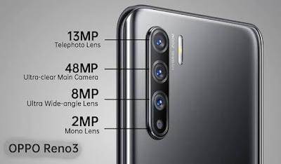 Kamera Oppo Reno3
