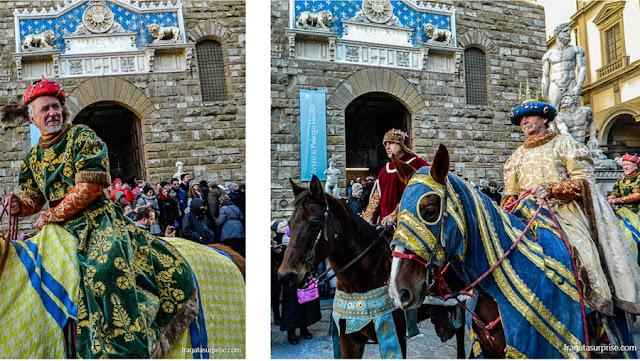 Festa de Reis em Florença, Itália