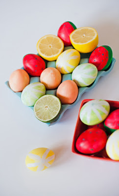 fruit easter eggs
