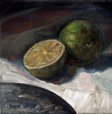 Limes Oil Painting by Jeff Ward