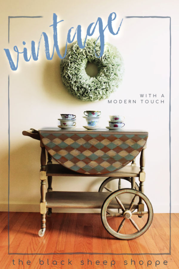Learn how to give your vintage furniture a touch of modern style.
