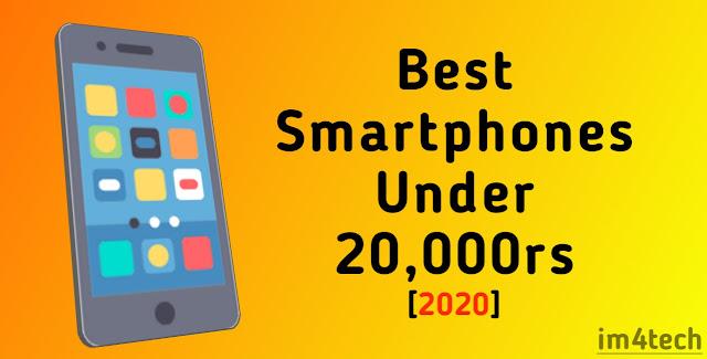 Best Smartphones Under 20,000rs