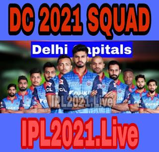 IPL 2021 : Delhi Capitals Squad