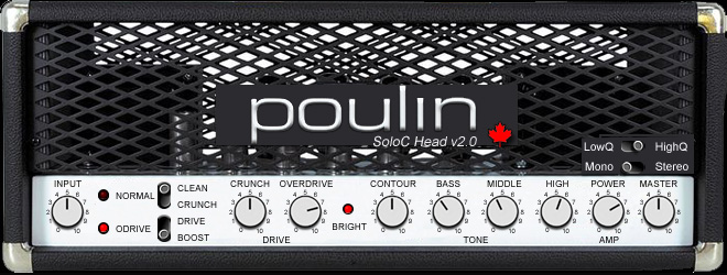 SoloC Head by Poulin