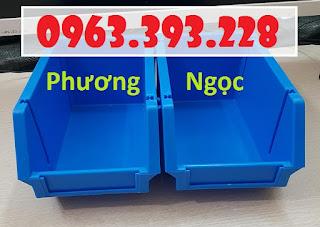 12fc58702f95c8cb9184 Khay nhựa có tắc kê chống tầng, kệ dụng cụ A6 xếp chồng, khay đựng ốc vít