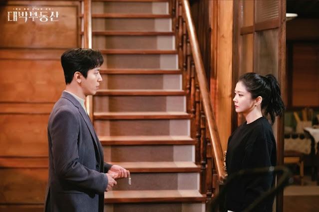 Sinopsis dan ending dari drama Sell Your Haunted House / Daebak Real Estate