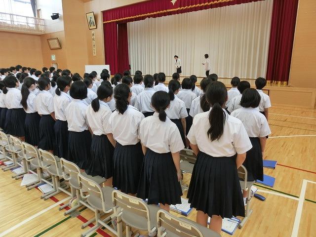 米沢市立第四中学校 学校ブログ: YCWに向けて