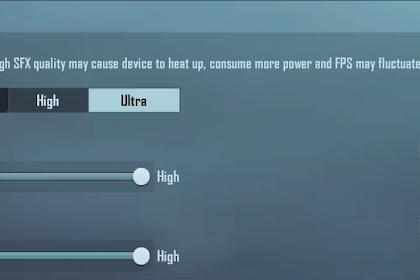 Update Ultra HD PUBG Mobile 1.6 Sound Ultra Titisan Ultraman