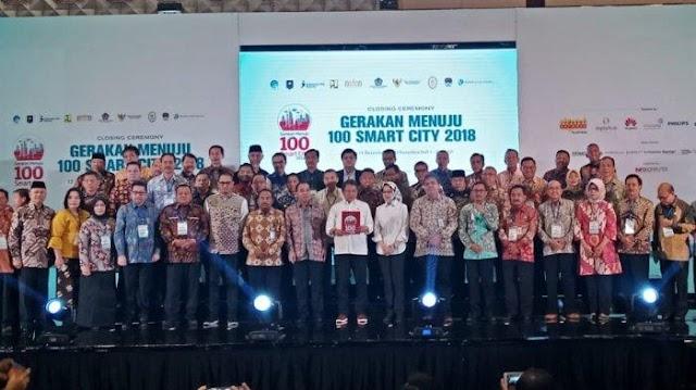 Deliserdang Terima Penghargaan Gerakan 100 Smart City