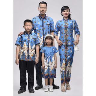 Batik Sarimbit Keluarga Ayumi ZigZag