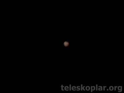Celestron astromaster 76eq ile Jüpiter