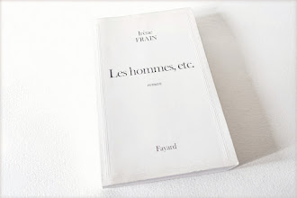 Lundi Librairie : Les hommes, etc. - Irène Frain