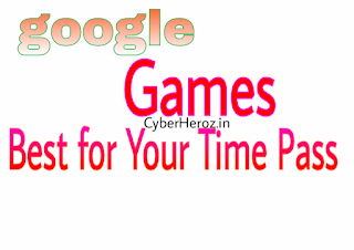 these google games can kill your bored time