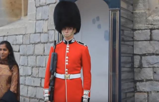 Guarda da rainha da Inglaterra