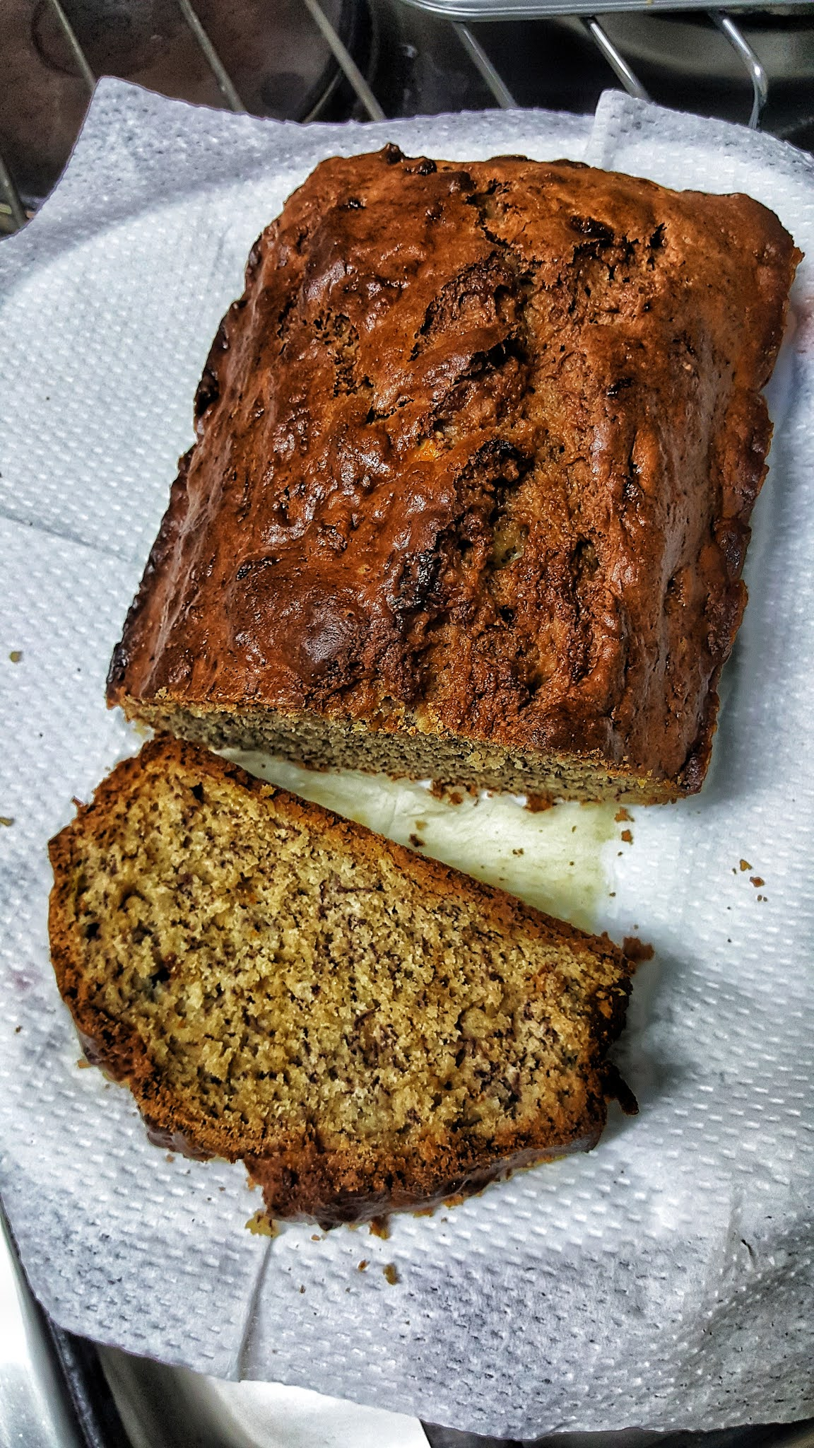 Easy basic banana bread
