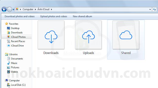 Upload Photo iCloud