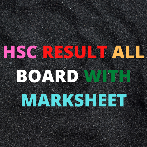 HSC Result 2020 Published Date: Marksheet available here