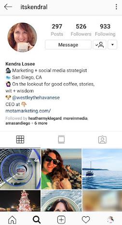 What is Instagram bio? Instagram bio