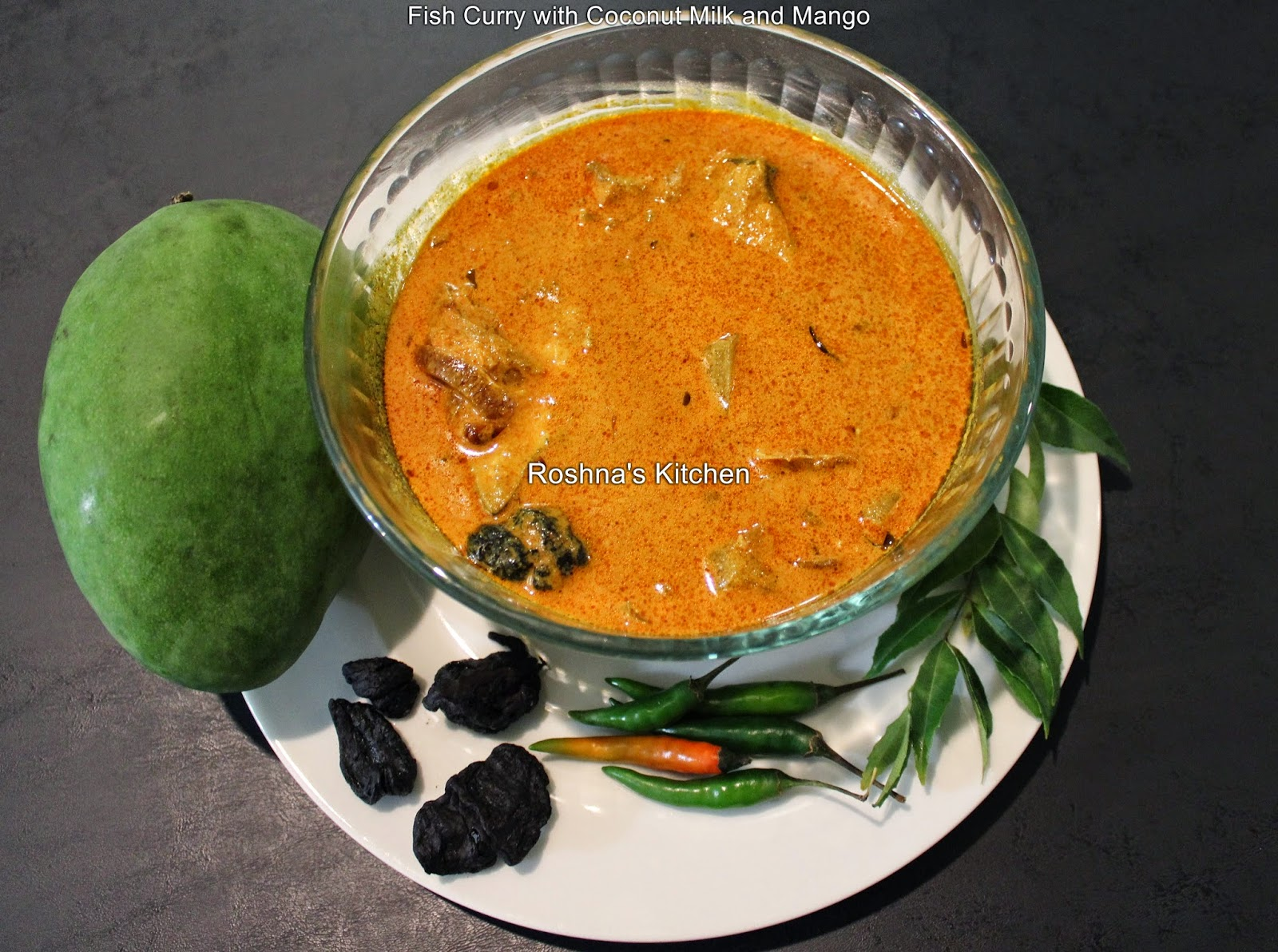 Fish Curry with Coconut Milk and Mango