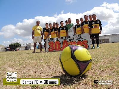 Santos realiza torneio dos trinta anos
