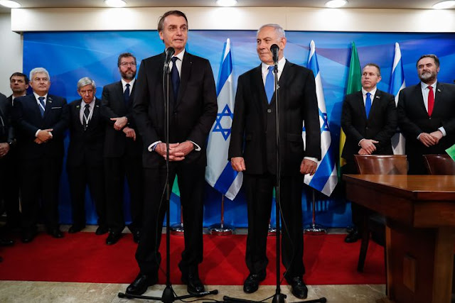 Brasil e Israel firmam cinco acordos e um memorando