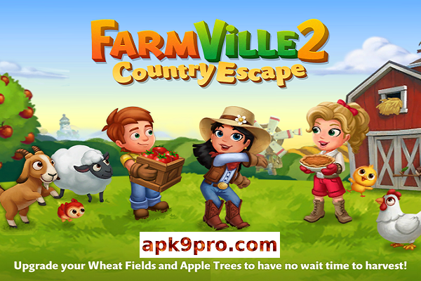 FarmVille 2 Country Escape v15.0.5434 Apk + Mod (File size 130 MB) for android