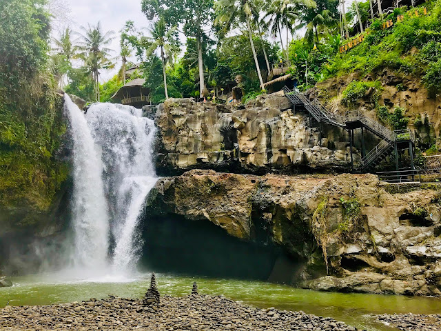 elcome to Tegenungan Waterfall, Ubud, Bali, Indonesia