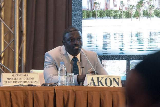 Akon moves ahead with 'Akon City' in Senegal
