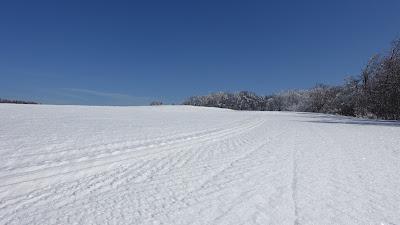 Jura-Hochebene im Winter