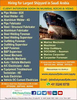 Largest Shipyard Vacancies Dammam KSA
