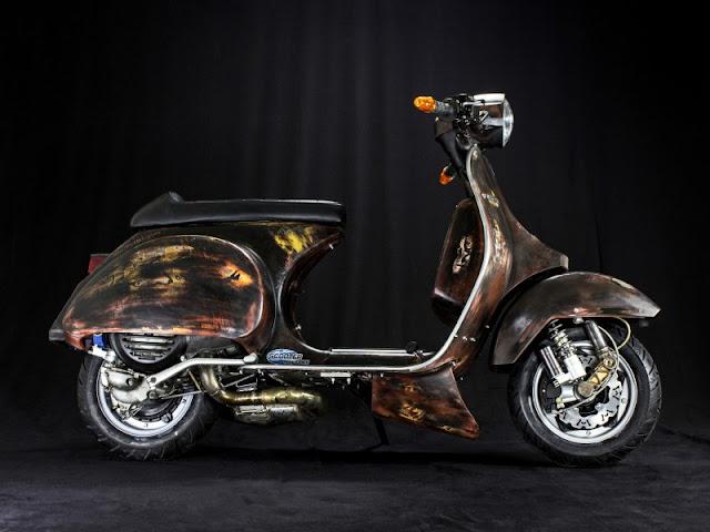 Những mẫu xe Vespa độ đẹp nhất cho các bạn tham khảo !