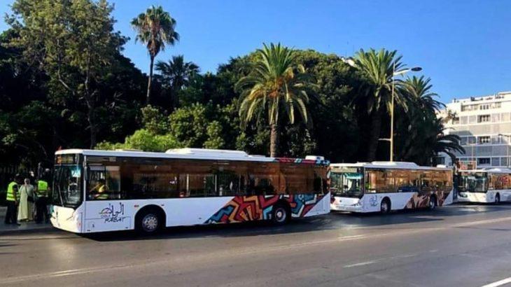 Rabat : Les nouveaux bus de la capitale administrative se montrent enfin
