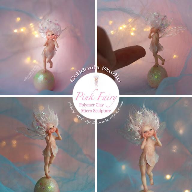 Micro Fatina - Miniatura ooak in pasta polimerica by Celidonia - Daniela Messina