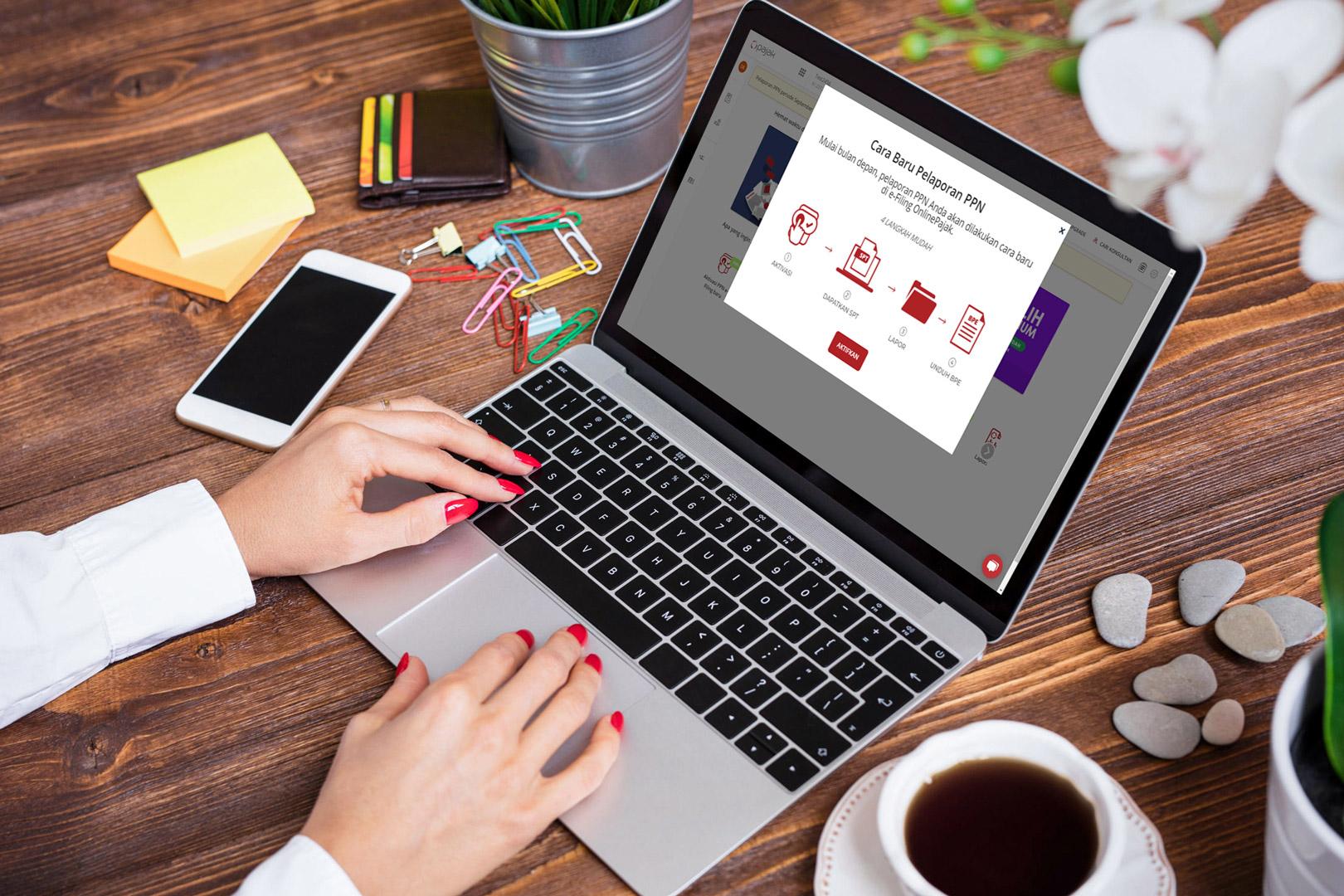Mudah Lapor SPT Masa PPN dengan e-Faktur OnlinePajak