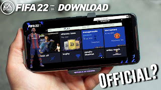FIFA 22 Mod Android Version Download Apk Obb Data
