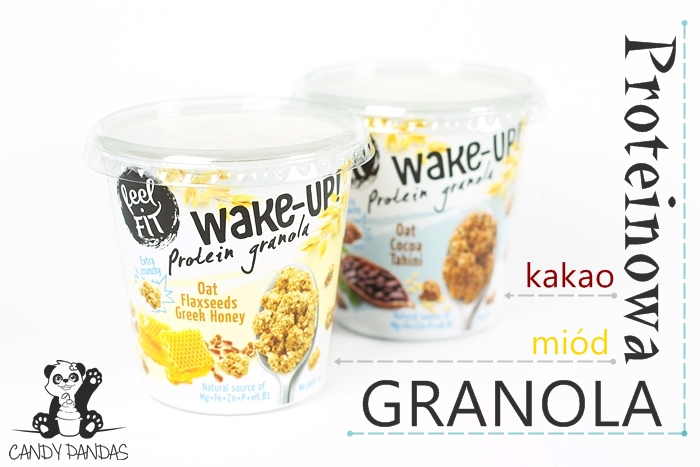Granola proteinowa wake-up – feel Fit
