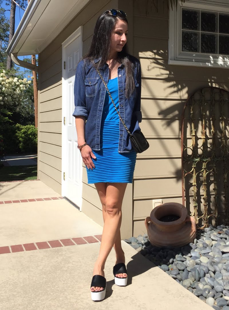 Blue and Jean Outfit