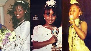 American singer, Amara La Negra baby picture