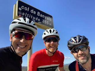 Cycling Coll de Banyuls