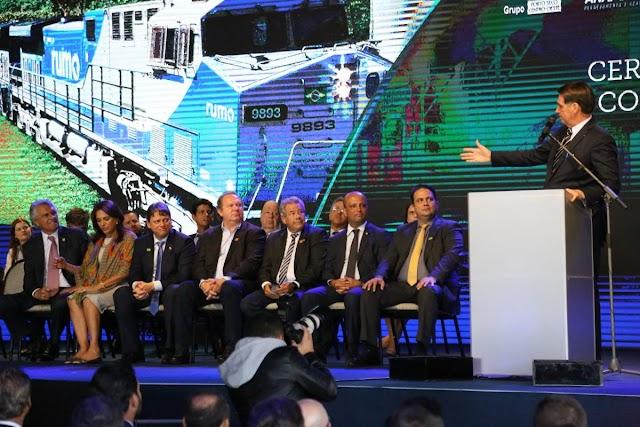 Jair Bolsonaro participa do aniversário de Anápolis