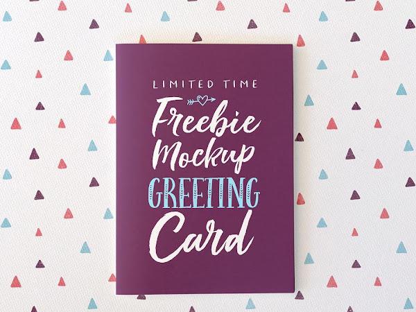 Download Mockup Greeting Cards Free