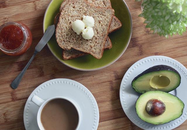 homemade butter: avocado butter