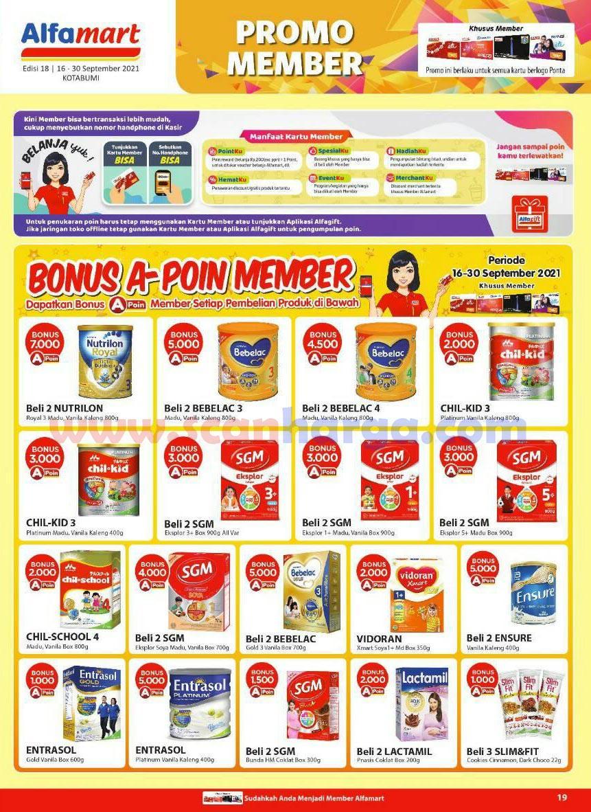 Katalog Alfamart Promo Terbaru 16 - 30 September 2021 19