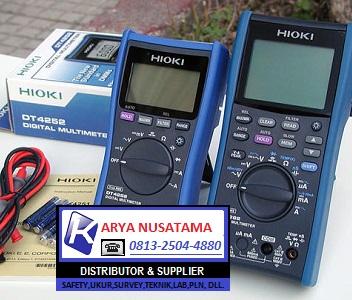 Jual Digital Multimeter Series Hioki DT-4252 di Pontianak