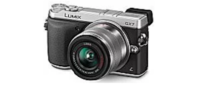 6. Panasonic Lumix GX7 Mirrorless ILC